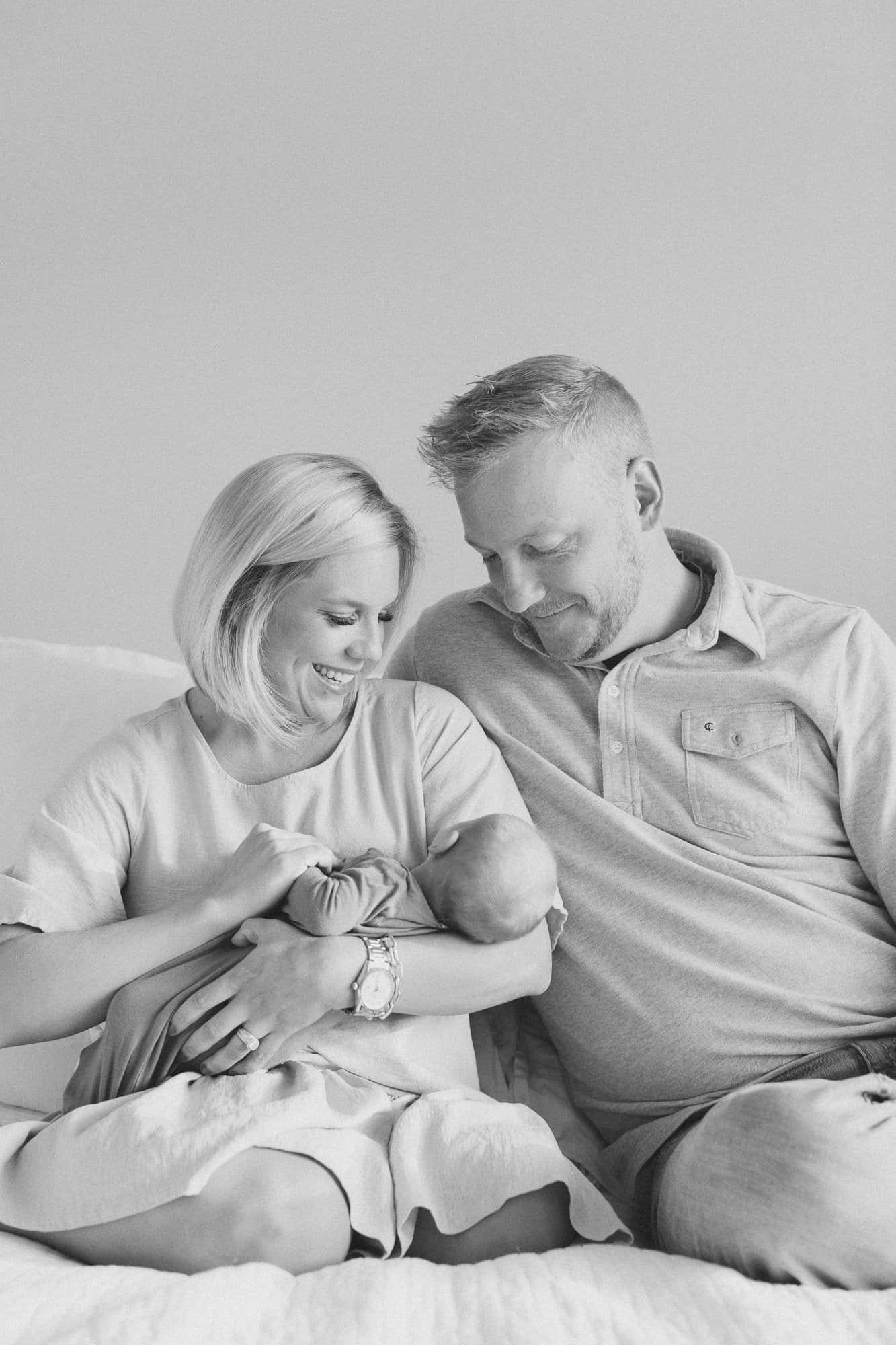 Newborn Family Photos in Boston