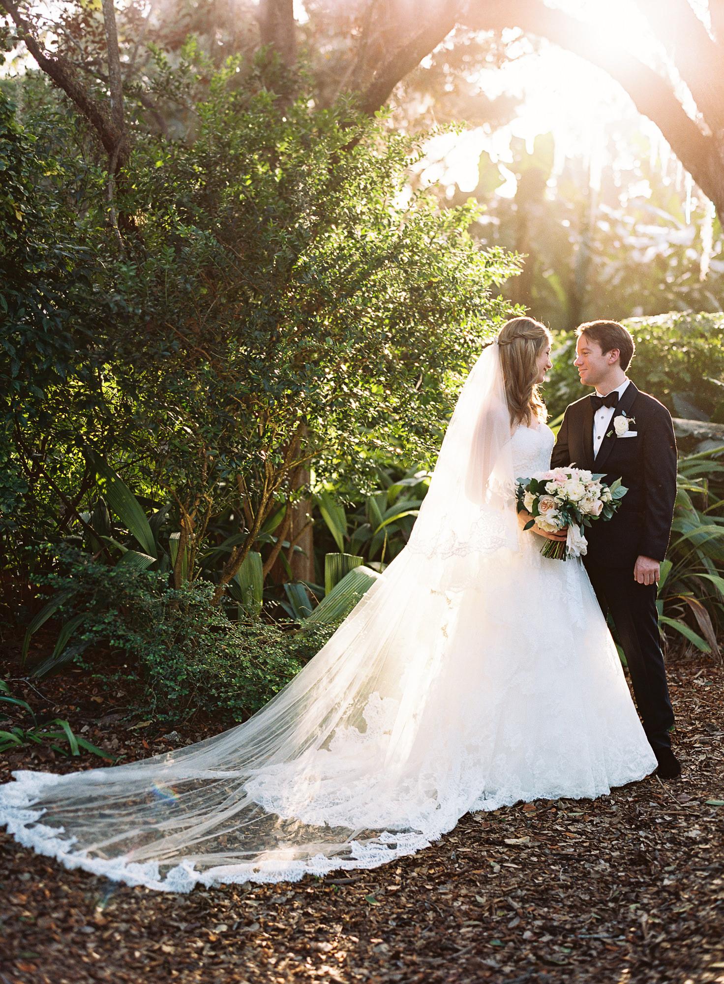 Coral Gables Miami Fairchild Tropical Botanical Garden Wedding