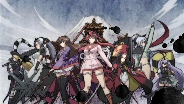 Hyakka Ryouran: Samurai Girls BD Sub Indo : Episode 1 – 12 (End) + 6 Special