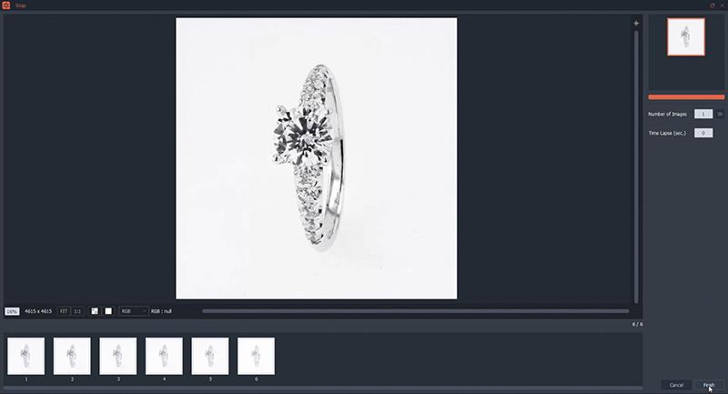 Automatische compilatie van jouw ringfoto