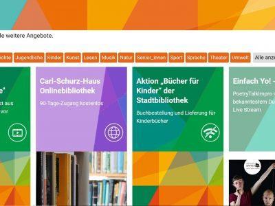 Digitales Angebot, Freiburg 2020