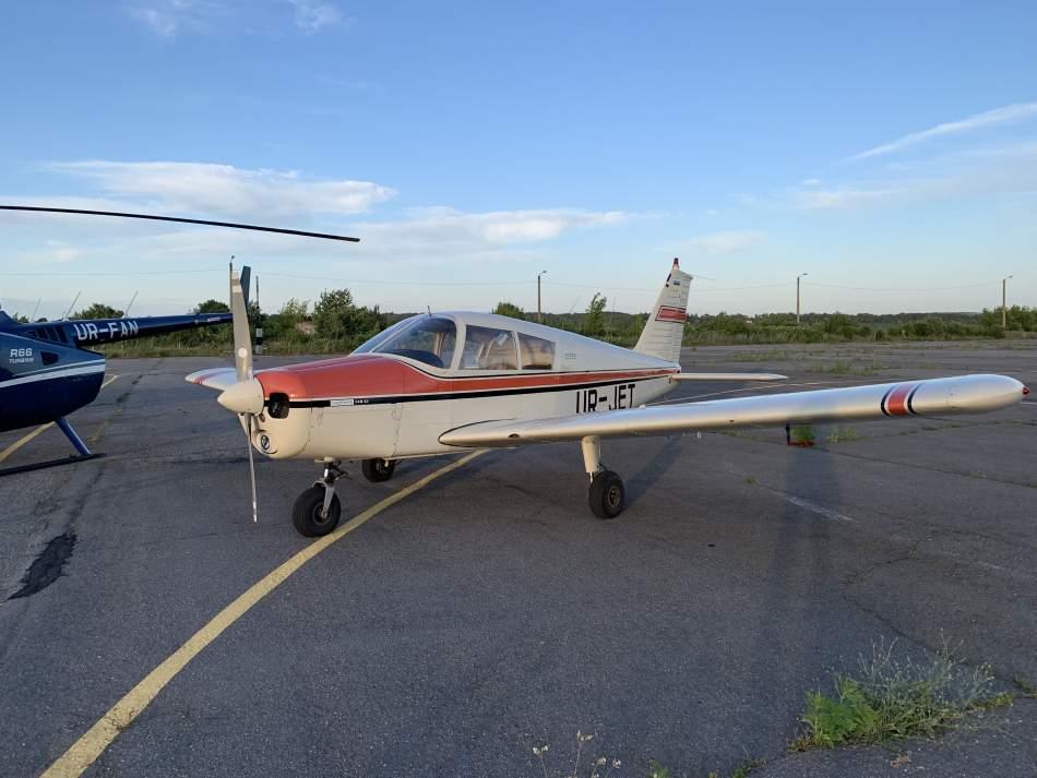 Політ на літаку Piper Cherokee над Хмельницьким для двох