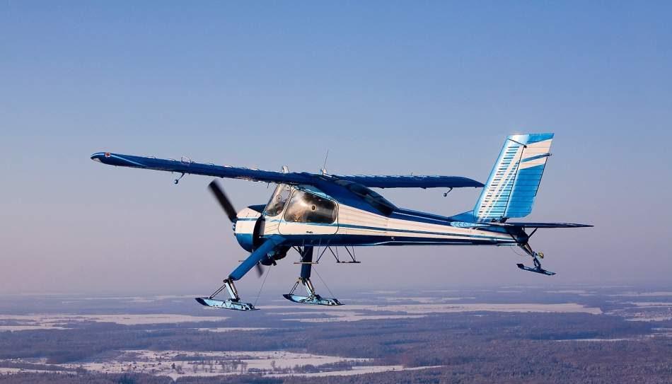 Навчальний політ на літаку у Вінниці