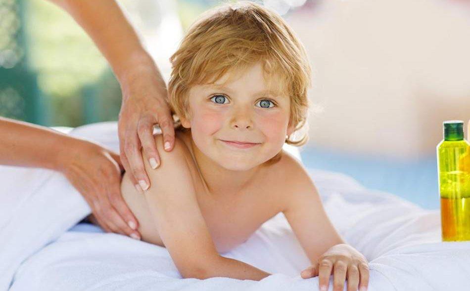 Дитячий тайський масаж