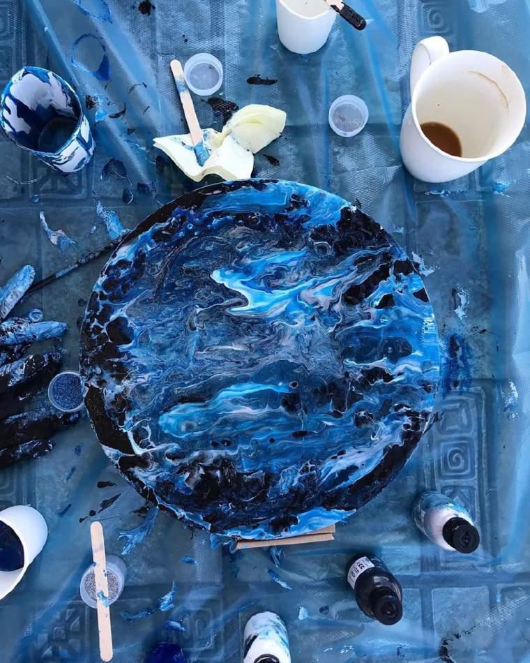Індивідуальний майстер-клас живопис Fluid Art