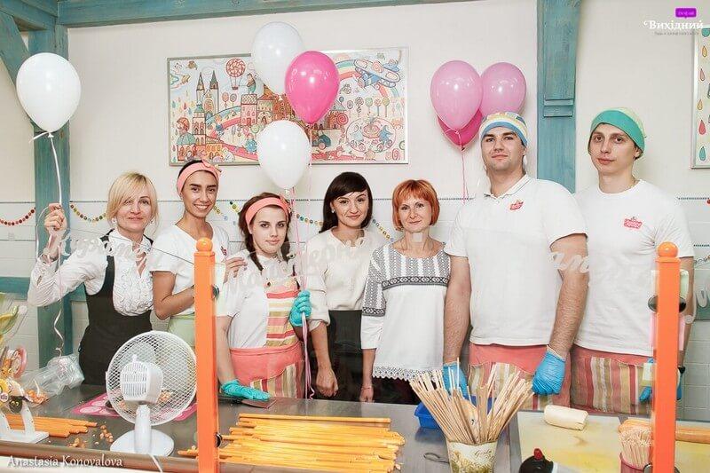 Майстер-клас з виготовлення карамелі для сім'ї