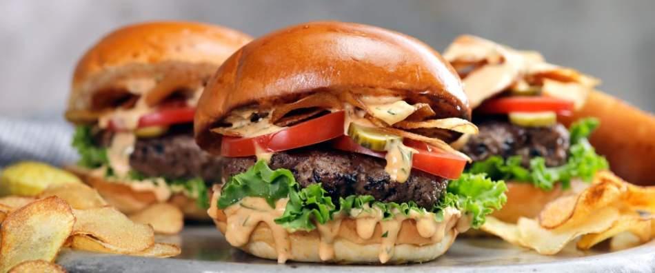 Бургер-день для двох