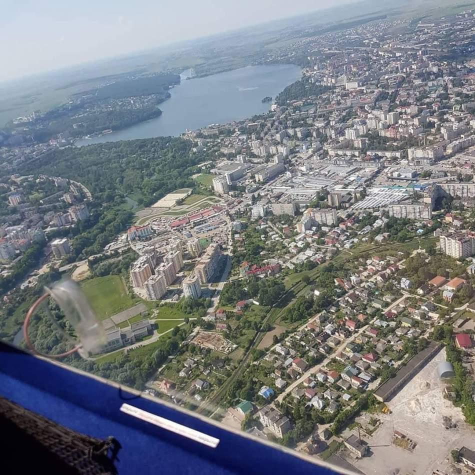 Політ на літаку Ct-2k над Тернополем для одного
