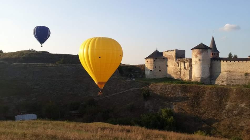 Політ на повітряній кулі для 3-х чоловік в Кам'янець-Подільському