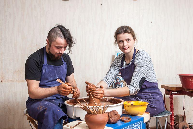 Мастер-класс гончарного искусства для двоих во Львове