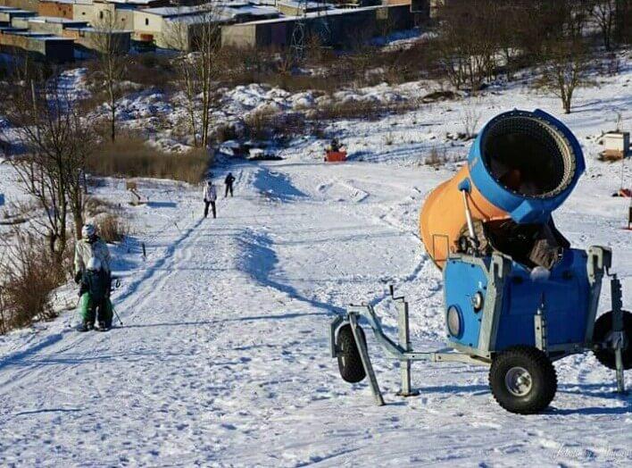 Катание на лыжах в Тернополе