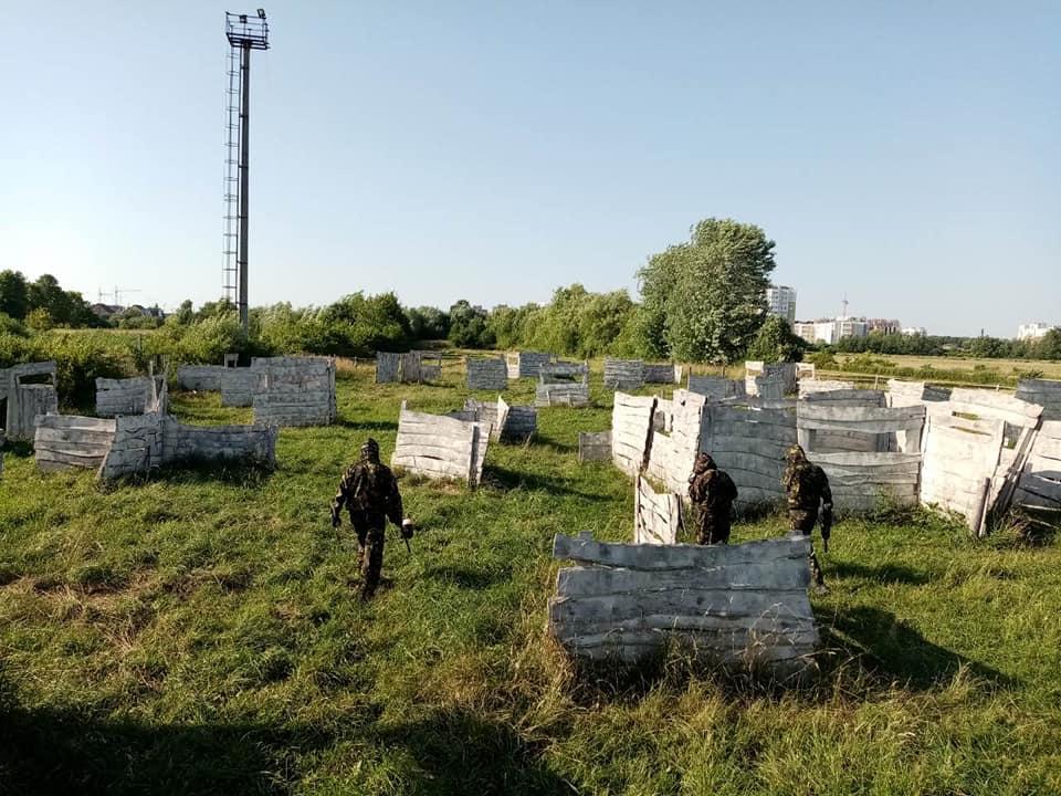 Игра в пентбол для компании во Львове