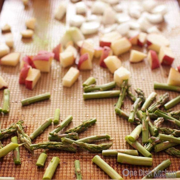 Crustless Quiche Recipes | One Dish Kitchen | ingredients for a crustless quiche