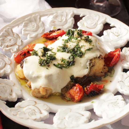 chicken margherita | one dish kitchen