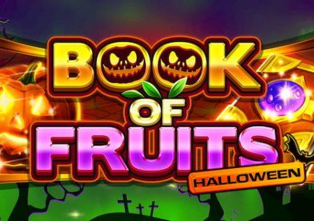 Libro de frutas Halloween