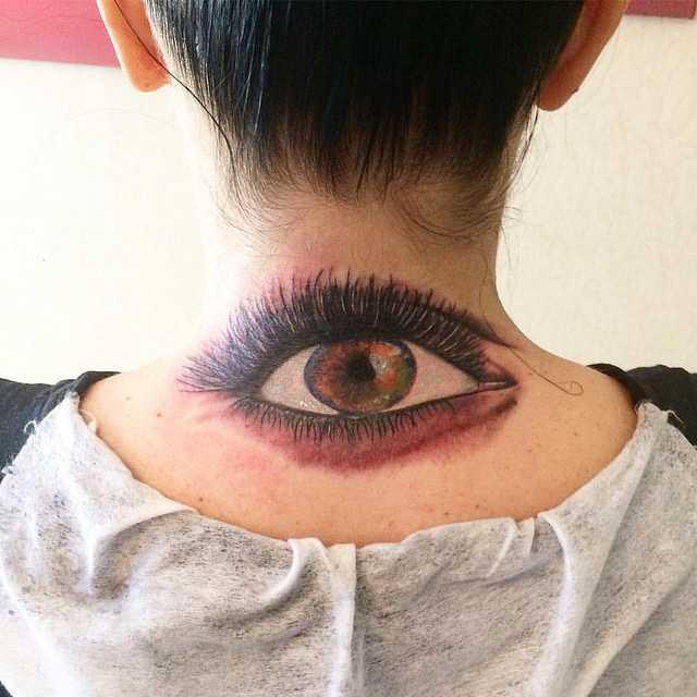 Глаз тату