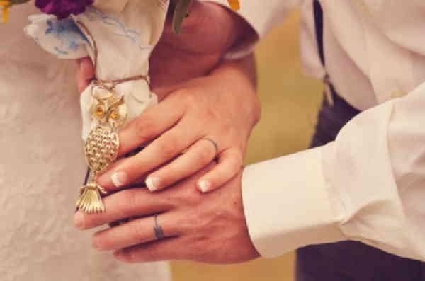 Обручальные кольца тату
