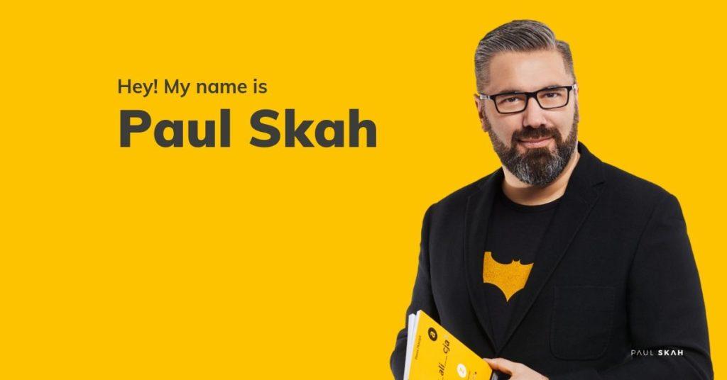 Paul Skah –Building Awareness