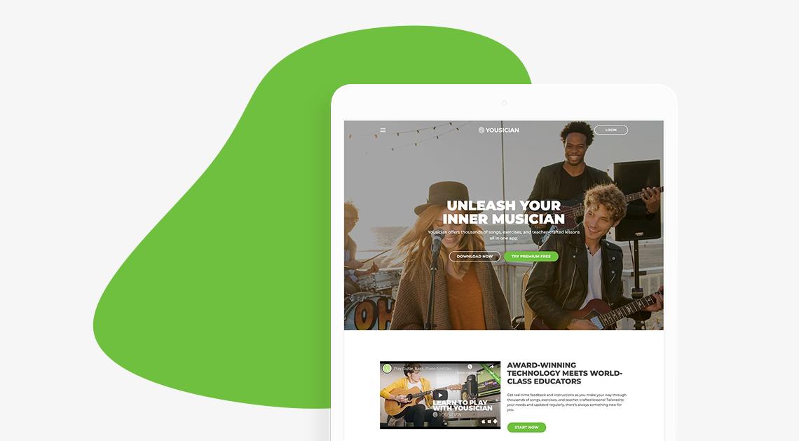 yousician-wordpress-website-cover