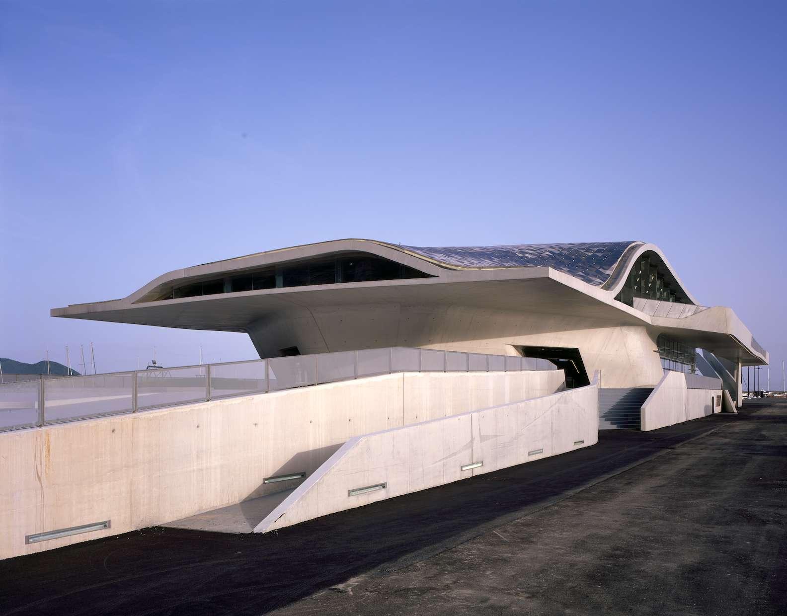 Port Salerno by Zaha Hadid Architects