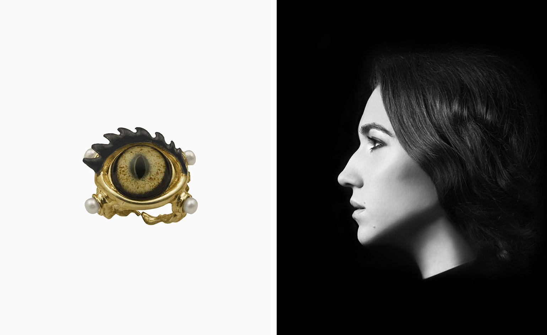 10 lat pracy projektantki biżuterii Delfiny Delletrez