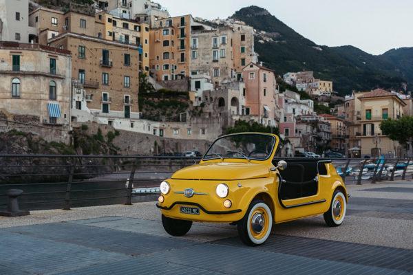 samochód elektryczny Fiat500-05