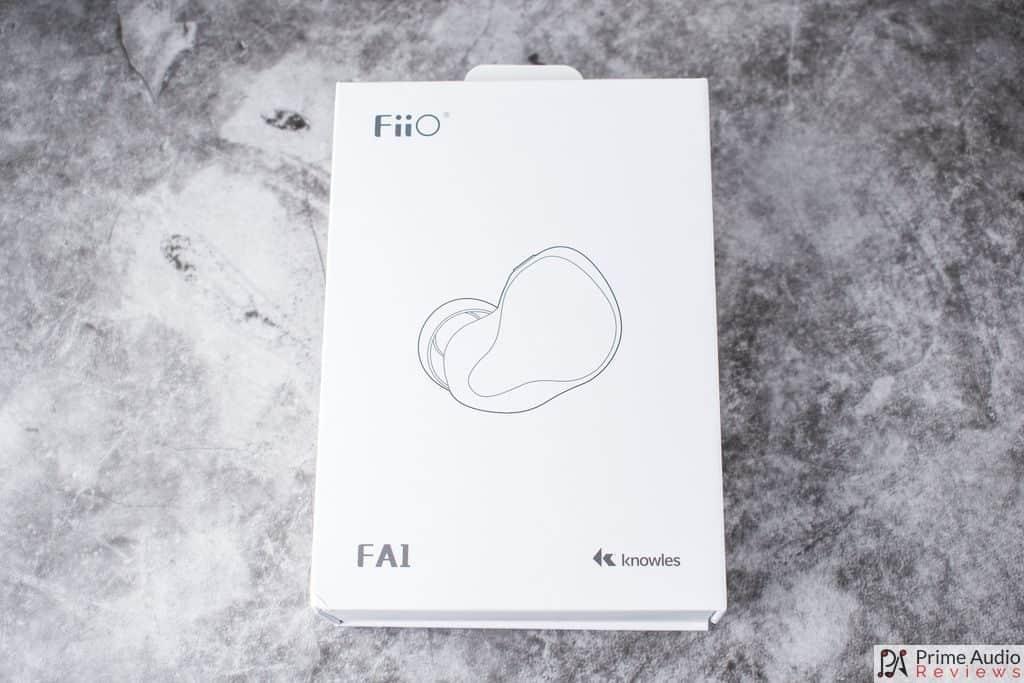 FiiO FA1 box front