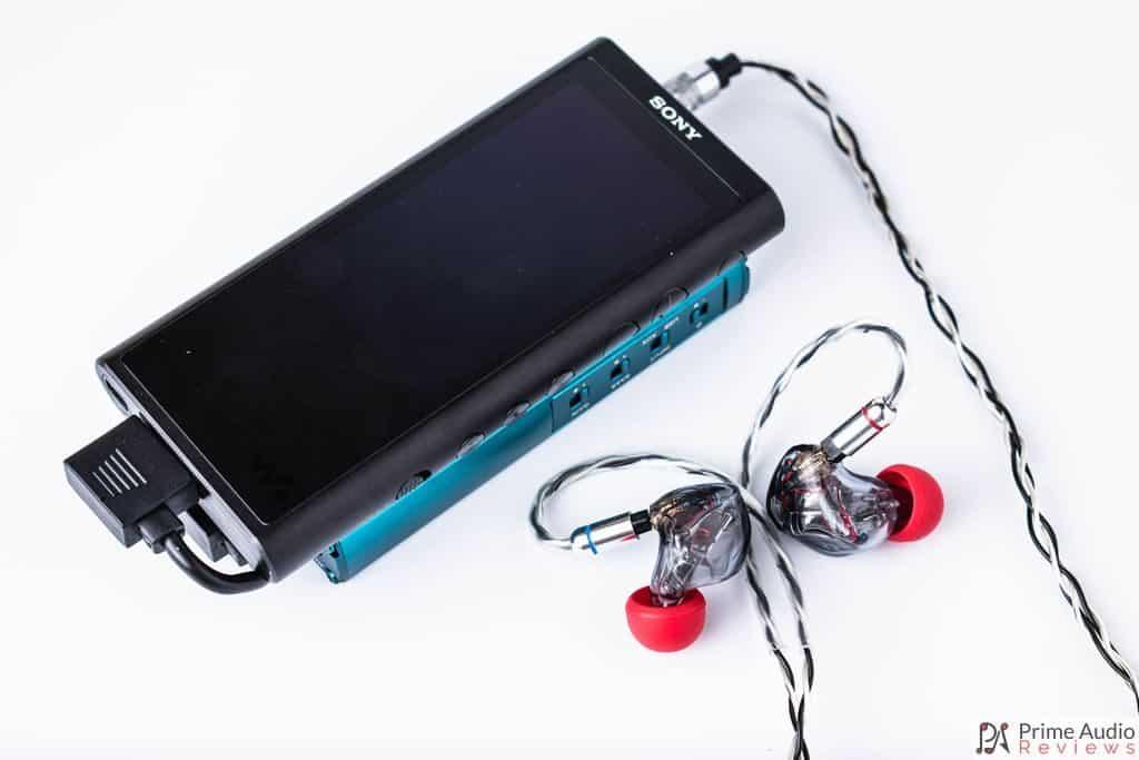 xDuoo XD-10 Poke with Sony NW-ZX300 and IEM