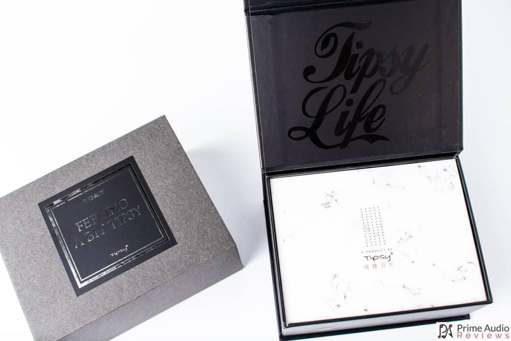 Tipsy Life on underside of lid