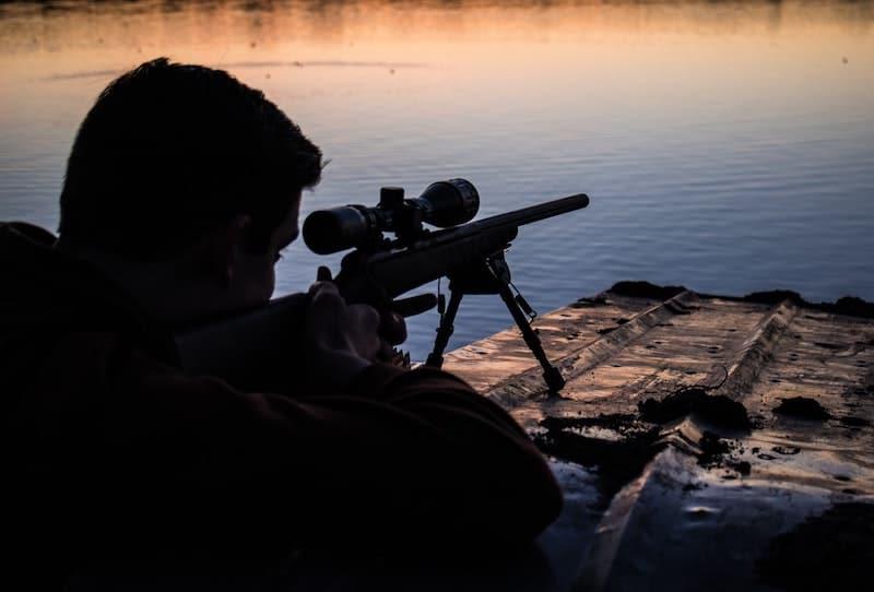 Rifle Practice Shooting