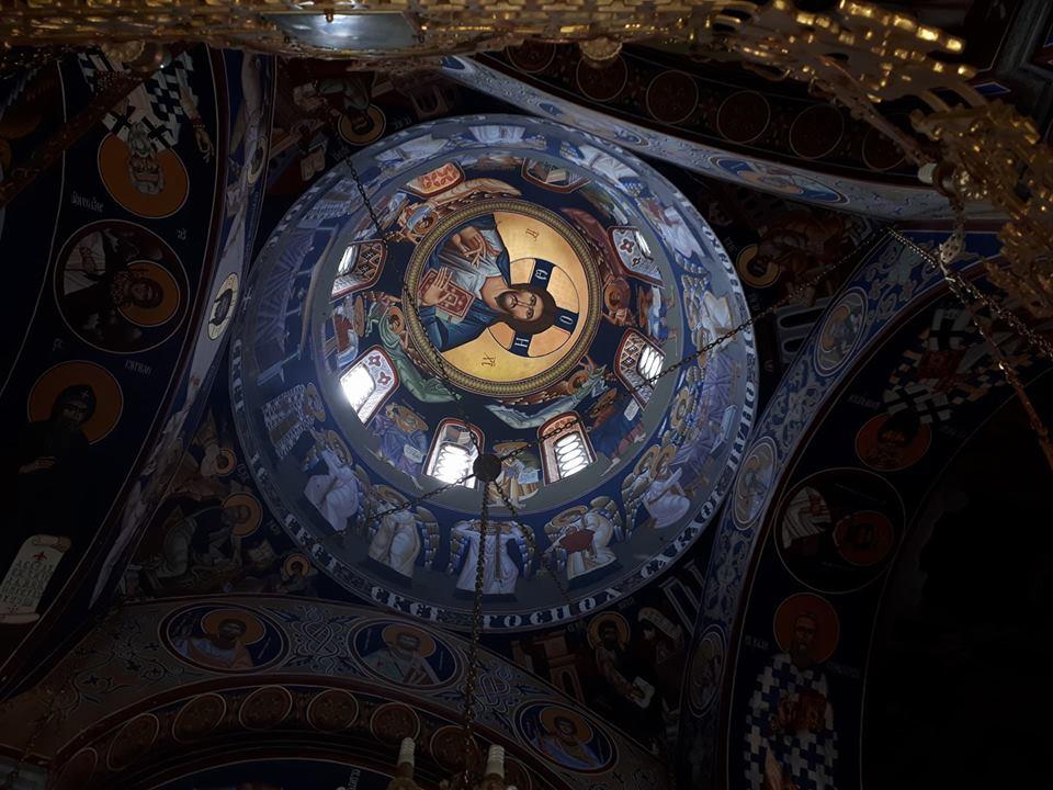 unutrasnjost manastira Kaona