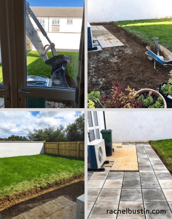 The start of a new garden