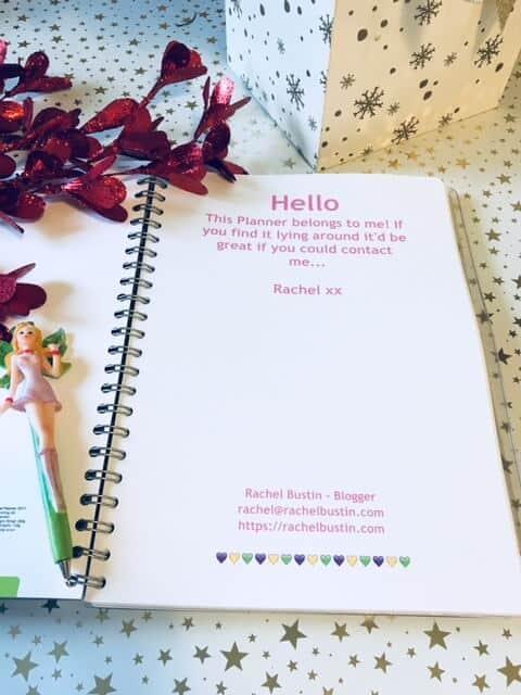 Personal Planner - Rachel's Blog Planner 2018