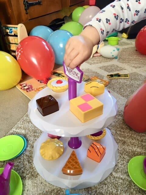 Mr Kipling Cake Stand and Tea Set