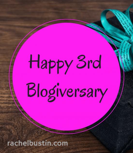 Happy 3rd Blogiversary