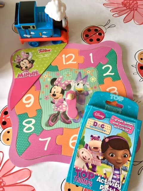Shopping haul from PoundToy - Minnie MOuse, Doc McStuffins, Thomas the Tank Engine
