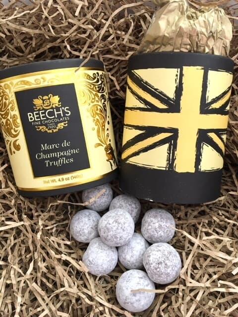 Luxury Marc de Champagne Hat Box Truffles