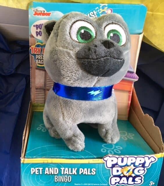 Puppy Dog Pals - Sit and talk Bingo