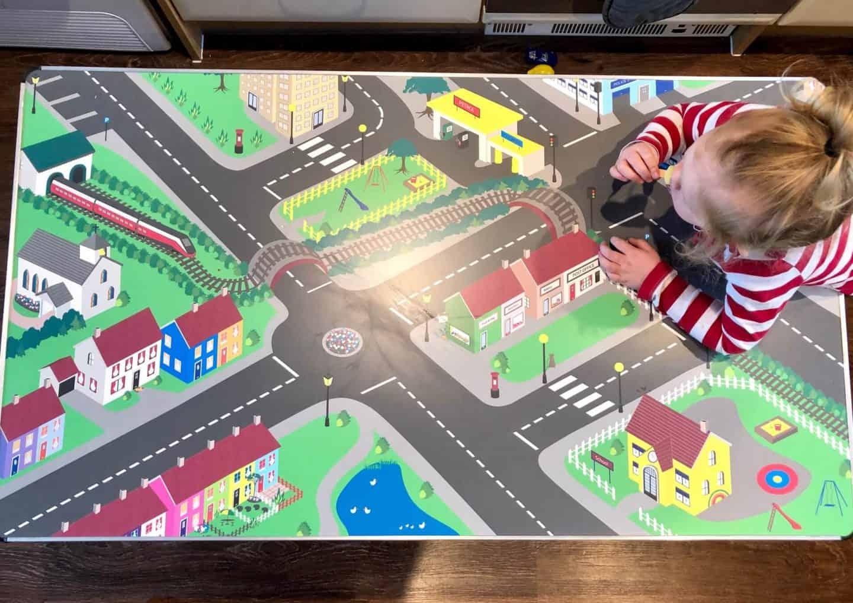 Gopak Children's Activity Table from above