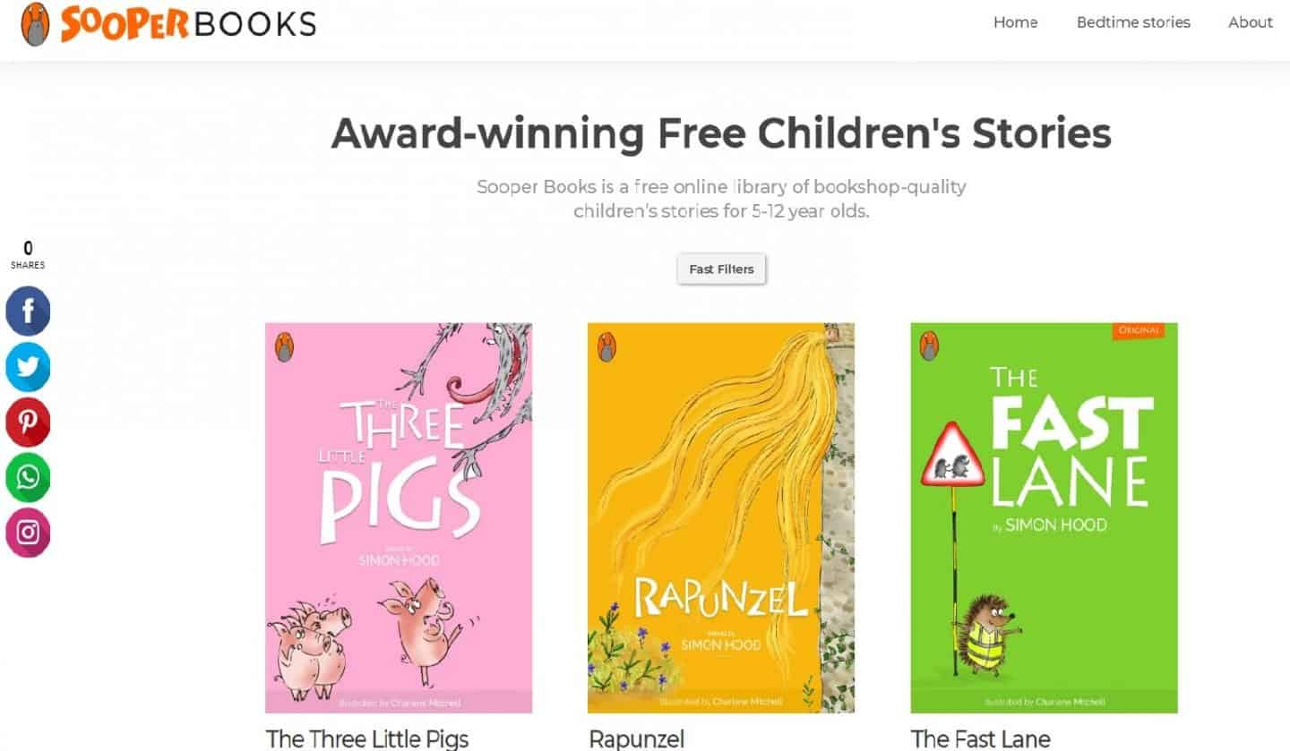 Getting Kids Reading with Sooper Books