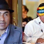 Conaie oficializa la precandidatura presidencial de Iza y Vargas