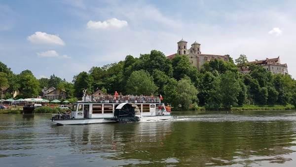 Rejs statkiem Kraków Tyniec