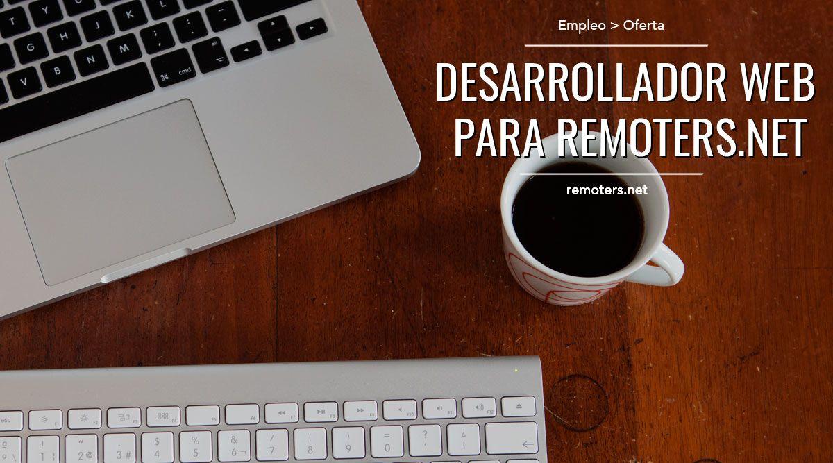 Desarrollador Web para Remoters.net