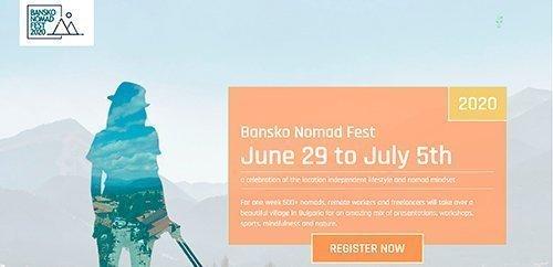 Bansko Nomad Fest 2020