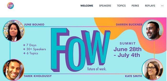 FOW Summit – Future of Work