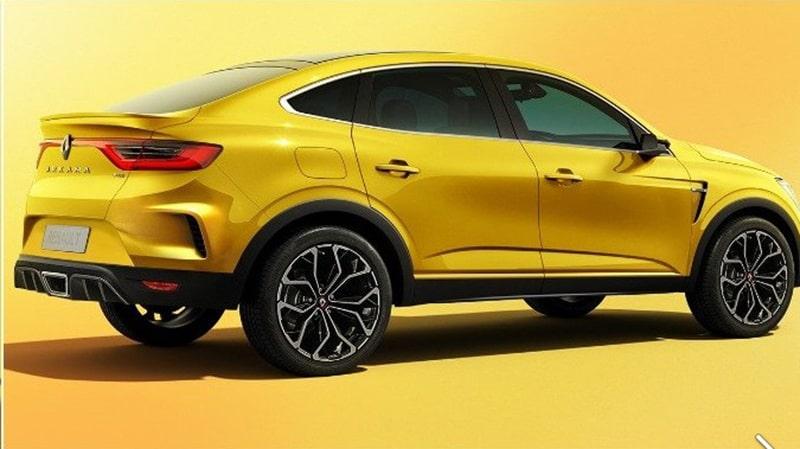 рендеринг Renault ARKANA