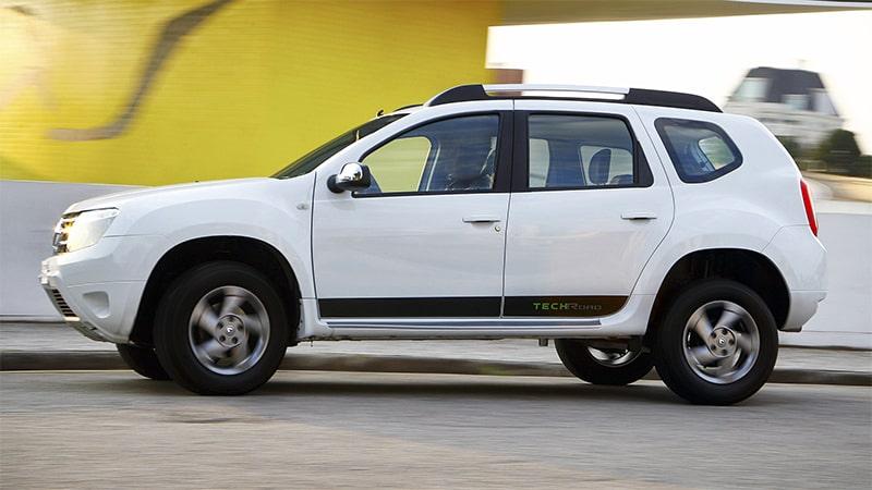 Белый Renault Duster