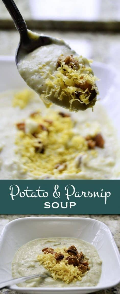 Parsnip Potato Soup