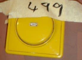 Kult-Lichtschalter in gelb