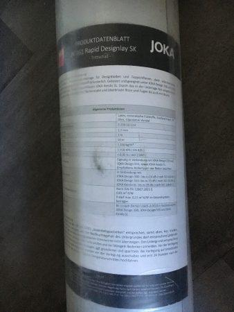 Joka JK161 Rapid Designlay Trittschall Unterlage für Vinyl-/Designböden